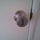 トイレ錠前ドアノブタイプ