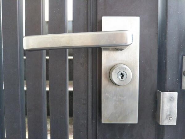 門扉鍵紛失解錠
