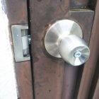 自動施錠MIWAHK鍵故障で交換