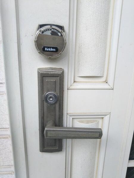 KEIDEN鍵故障で開錠