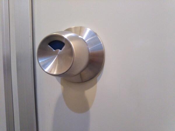 トイレ表示錠ドアノブ故障