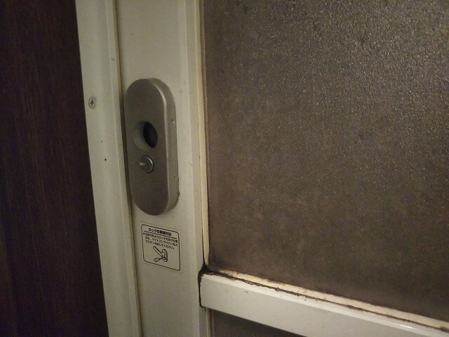 浴室鍵故障で開錠交換